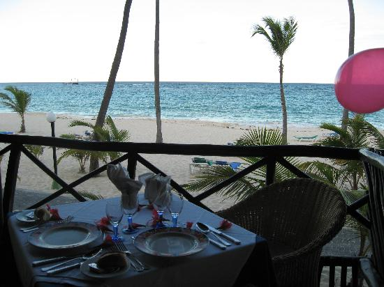 ClubHotel Riu Bambu: View from Caribe Restaurant