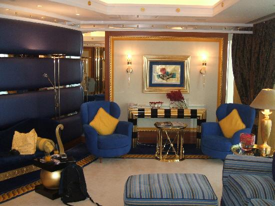 Burj Al Arab Jumeirah: Other view of lounge