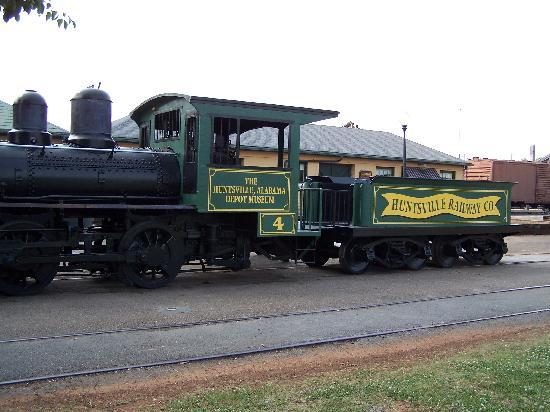 Huntsville Depot Museum: Historical Engine