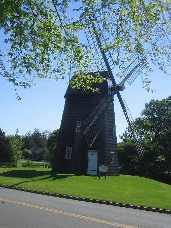 Mill House Inn: The windmill opposite