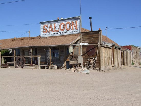 Santa Fe Motel and Saloon: Santa Fe Saloon, Goldfield, NV