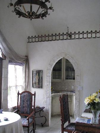 A Cottage and A Castle: View to the kitchen