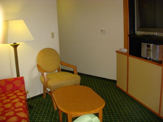 Fairfield Inn & Suites Sacramento Airport Natomas: Seating Area