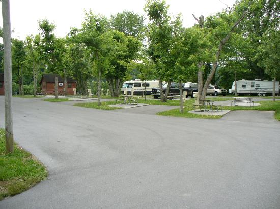 Foothills RV Park & Cabins : A view from one angle