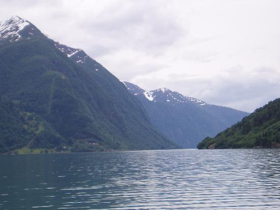 from the Fjaerland fjord