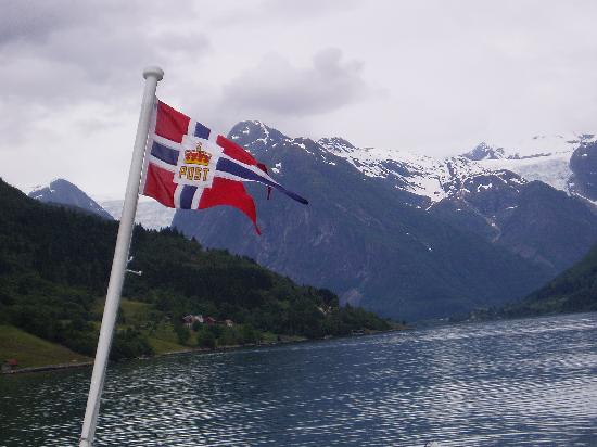 the Fjaerland fjord