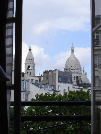 Timhotel Montmartre: View from our room