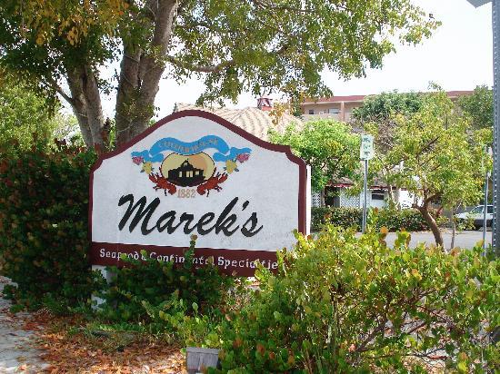 Marek's Collier House Restaurant: Mareck's
