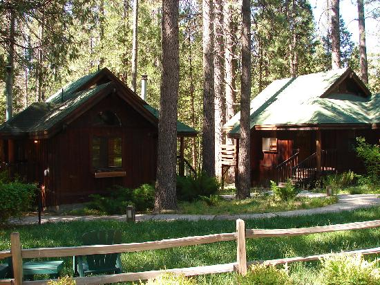Idyllwild, CA: View of some of the cabins at Quiet Creek Inn