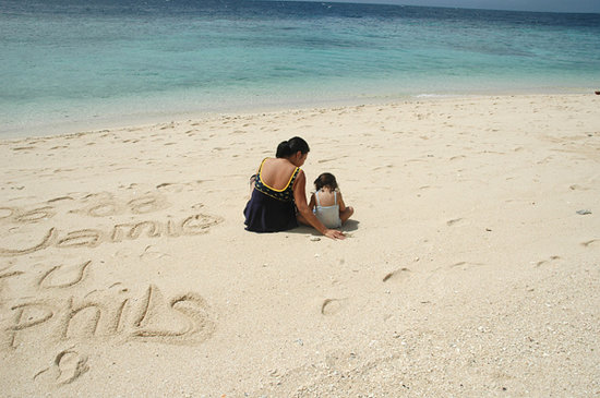 Cebu Island, Filipinler: -quiet moments @ Bas Daku beach, Moalboal, Cebu