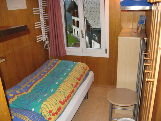 Esther 39 s guesthouse gimmelwald swiss review b b for Small room nfpa 13