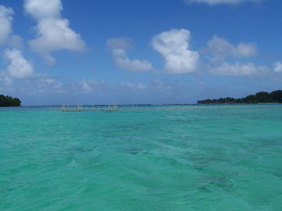 Vanuatu: Natural Fish Trap Erakor Island