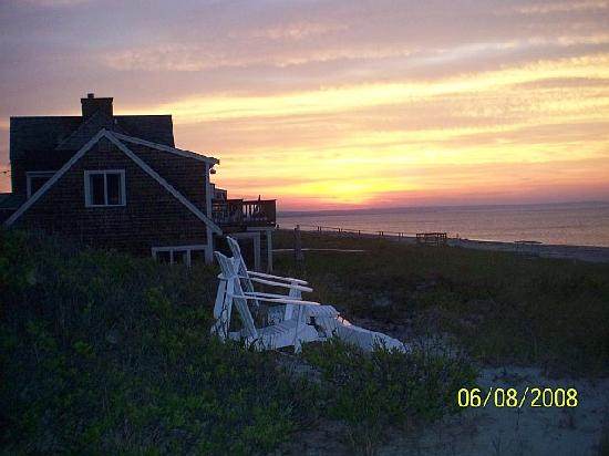 Cape Cod, MA: Sunset in E Sandwich