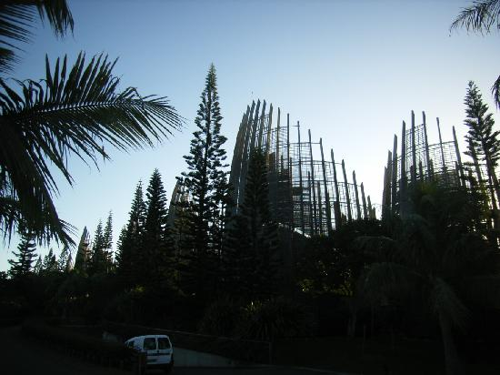 Noumea, New Caledonia: Tjibaou Cultural Centre (amazing buildings)