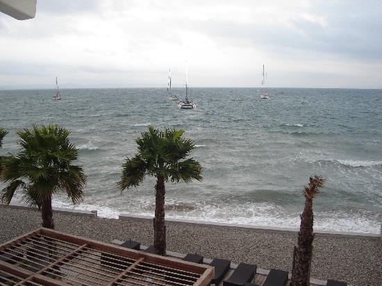 Hotel Bor : View from Balcony