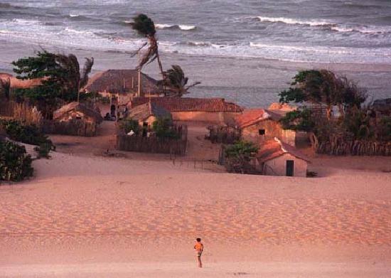 Fortaleza Beaches along the Coast of Ceara Brazil.