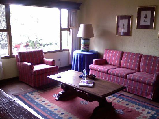 Villa Montana Hotel & Spa: Living Room in villa apartment 107