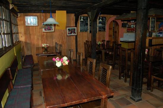 Hotel Cuello de Luna: Eating area