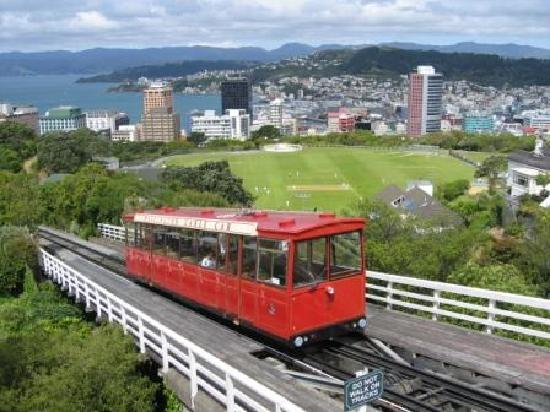 Wellington Cable Car: Nice View of Wellington