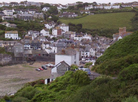 Hathaway Guest House: View of Port Isaac