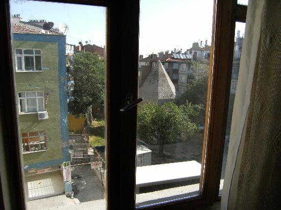 Saray Hotel: View from the window