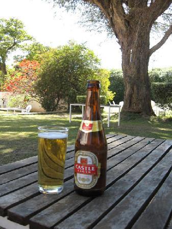Kabwe, Замбия: Hotel garden