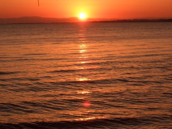 Neptun: Sunset from the hotel