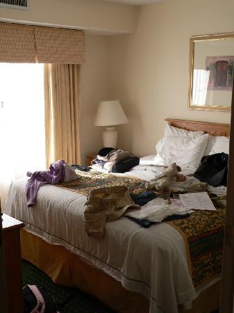 Residence Inn Durango: Bedroom at Residence Inn
