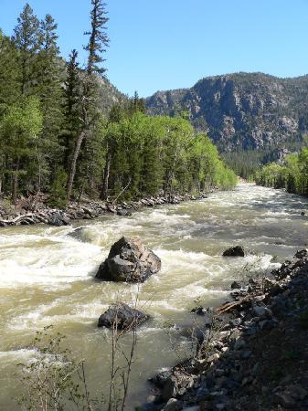 Residence Inn Durango: Views from the train