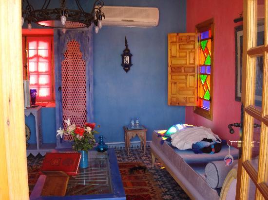 Casa Taos: The room