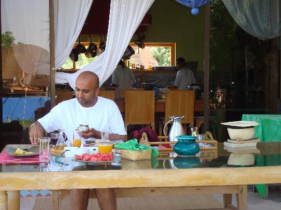 Casa Taos: Breakfast