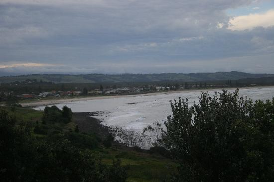 Lennox Head, Australien: view of the main beach