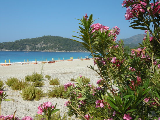 Oludeniz, Turki: the beach