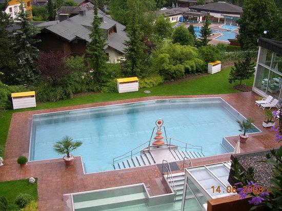 Das Ronacher - Therme & Spa Resort: piscina comune riscaldata