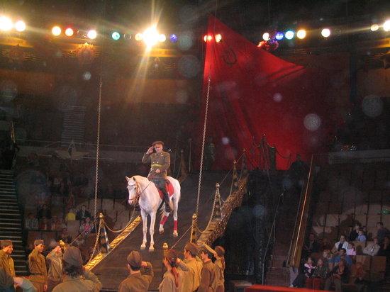 Jekaterynburg, Rosja: Eburg circus -www.Ekaterinburg.TK