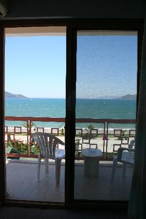 Ceren Hotel: Blick aus unserem Zimmer