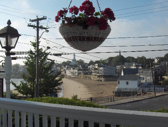 Beach & King Street Inn : What a view from the porch!
