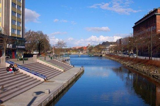 Malmö, Szwecja: Malmo Canal