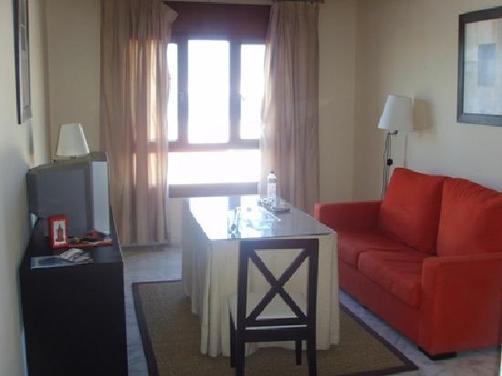 LuxSevilla Bormujos: Lounge Area 1