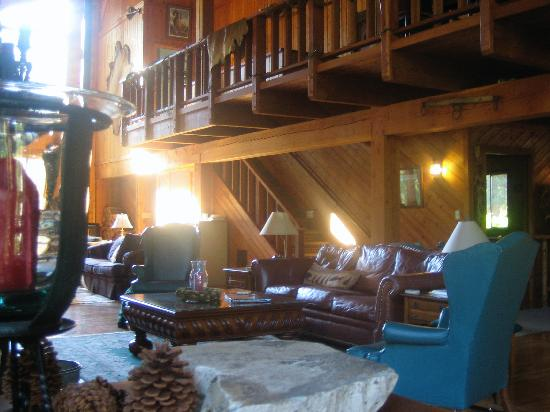 Bighorn Lodge main sitting room