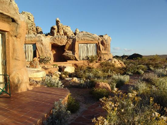 Kagga Kamma Nature Reserve: our first room