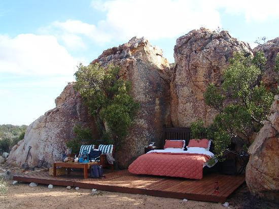 "Kagga Kamma Nature Reserve: our second ""room"""