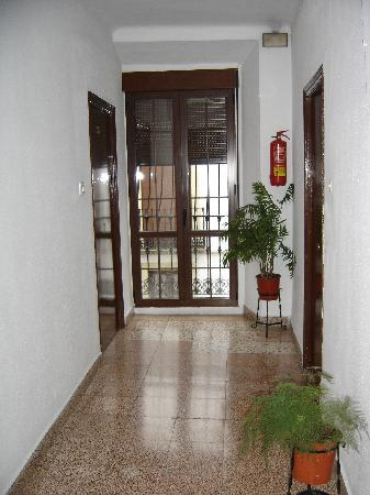 Hostal Ronda Sol: Hallway