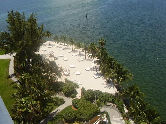 Mandarin Oriental, Miami: beach from the room