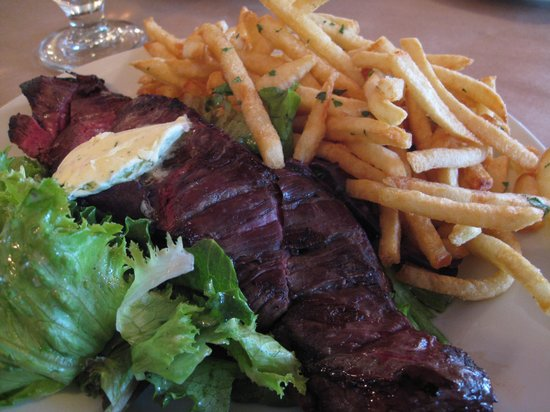 The Restaurant at Burdick's: Steak frites