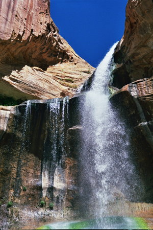 Calf Creek Falls Recreation Area: Calf Creek Falls