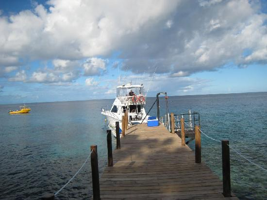 Royal Davui Island Resort: Wai Tadra picks us up and coolers are ready