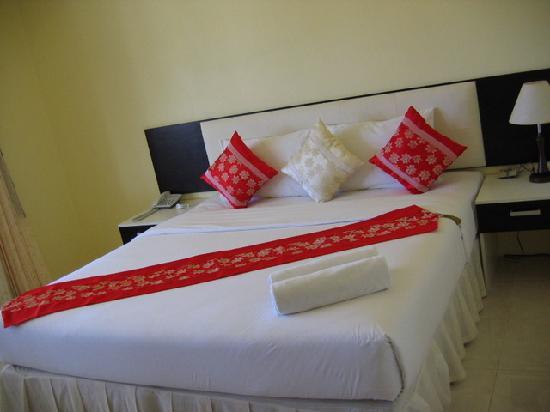 The Laem Din Hotel: Super comfy beds