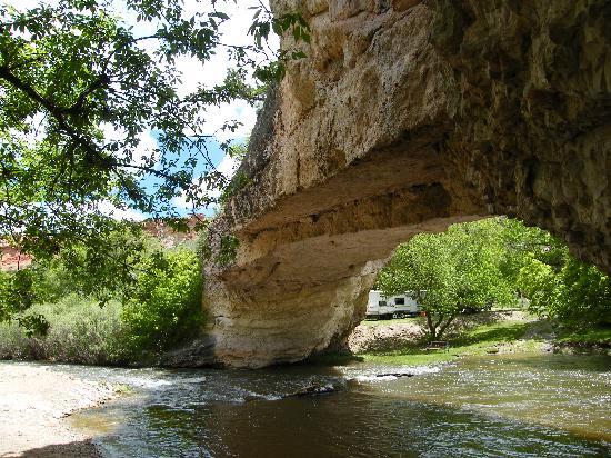 Ayres Natural Bridge照片