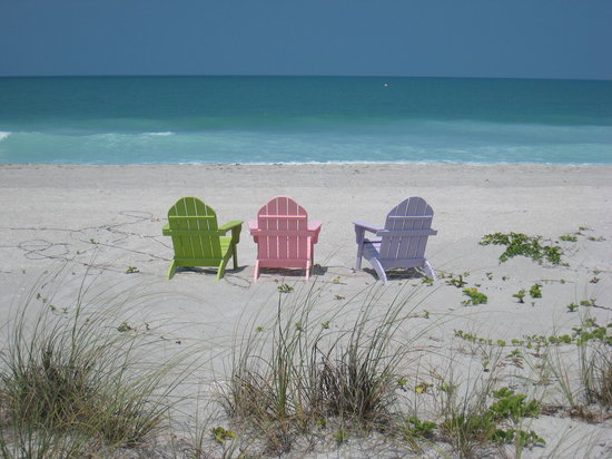 Pulau Captiva, FL: peaceful day at the beach